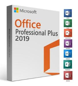Microsoft Office 2019 Professional Plus Retail CZ 32 / 64 Bit
