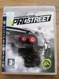 Ps3 Need for Speed - PRO STREET - NFS pro SONY Playstation 3 TOP STAV