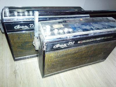 2 x Spidola 252 rádio