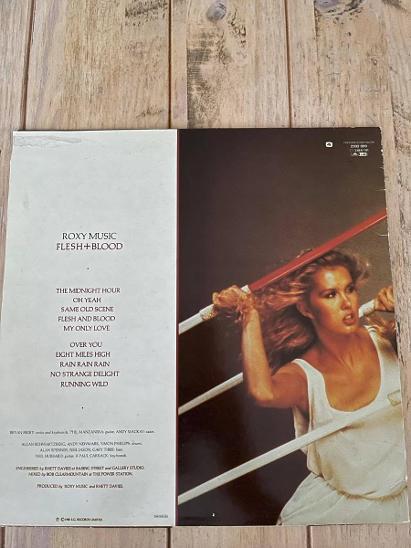 LP Roxy Music - Flesh+ Blood 1980 - Hudba