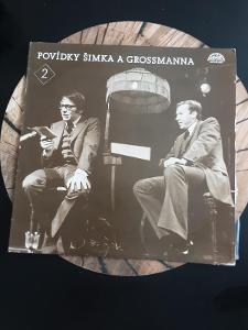 Miloslav Šimek–Povídky Šimka A Grossmanna 2 , LP