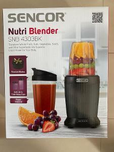 SENCOR smoothie mixér SNB 4303BK - nový