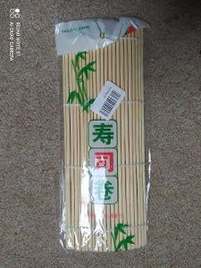 Bambusová rolovací podložka na sushi