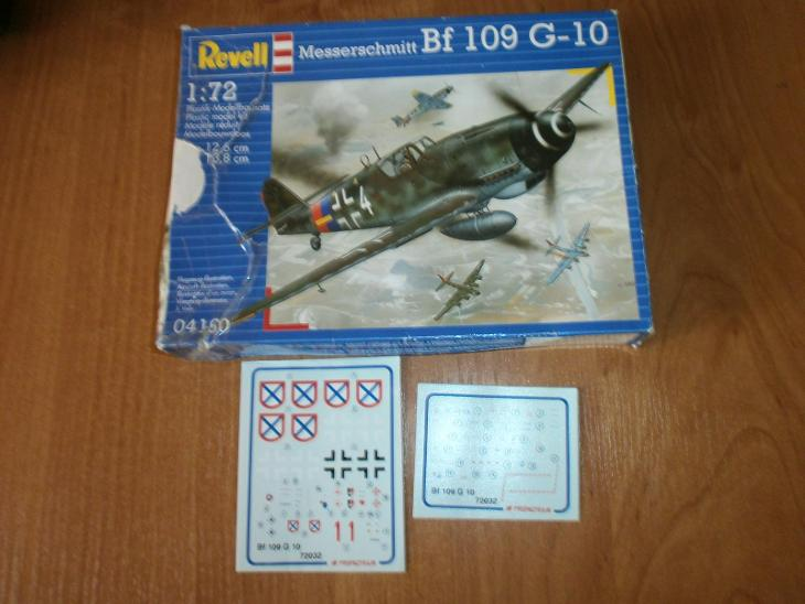 Messerschmitt BF 109G-10+navíc obtisky ROA /Revell/ - Modelářství