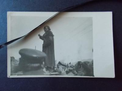 Originál foto legie legionáři Vladivostok řeč agitátora Bolševik