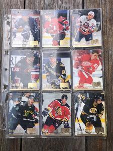 Hokejové kartičky 18 ks