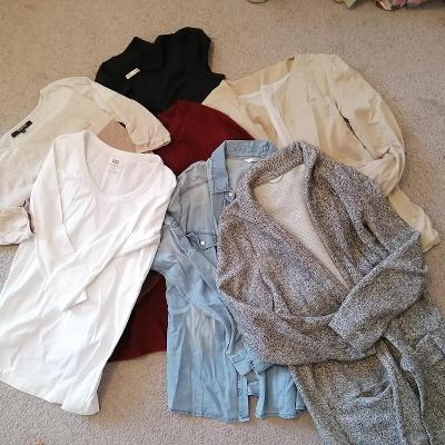 Oblečení XS/S/M - 7ks