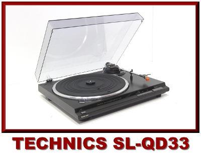 Kvalitní Gramofon TECHNICS **Quartz Direct Drive**Plně Automatická**
