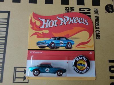 Hot Wheels 50té výročí 67 Camaro.