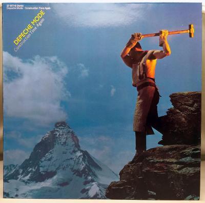 Depeche Mode – Construction Time Again 1983 Germany Vinyl LP 1.press