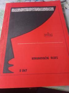 Korunovační blues. Pásmo z veršů Václava Hraběte. Dilia 1982 scénář