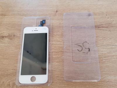 Apple iPhone 5S LCD displej dotykové sklo bílý