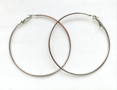 Nošené náušnice kruhy