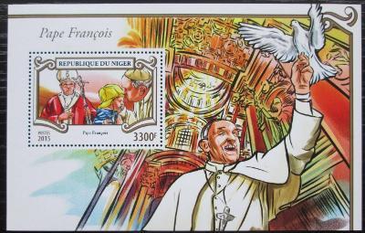 Niger 2015 Papež František Mi# Block 471 Kat 13€ 2509