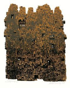 Jiří Rathouský: Labyrint III (serigrafie)
