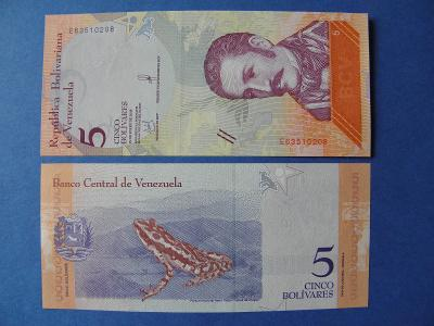 5 Bolivares 15.1.2018 Venezuela - P102 - UNC - /X108/