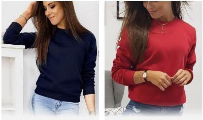 12 kusů ... Dámské mikiny a trička, výprodej e-shopu !!! Nové !!!