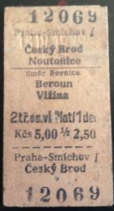 , SmíchovČeský Brod, Beroun, Vižina