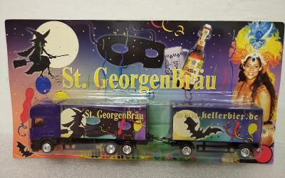 Reklamní kamion - pivovar St. GeogenBrau