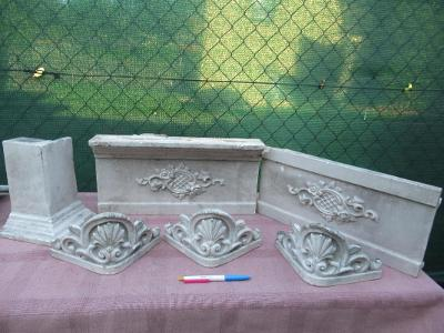 Obklady s motivy ze staré pece, kamen
