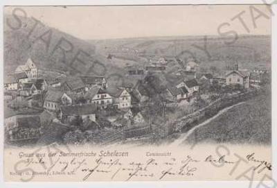 Želízy (Schelesen), pohled na město, DA, Mělník