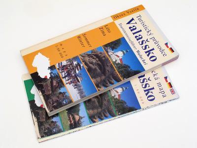 #3202A Turistický průvodce Valašsko Léto Zima 2000 česky německy