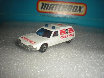 Matchbox Citroen CX Ambulance. r.1979 ENGLAND!!