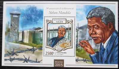 Niger 2015 Nelson Mandela Mi# Block 420 Kat 10€ 2511