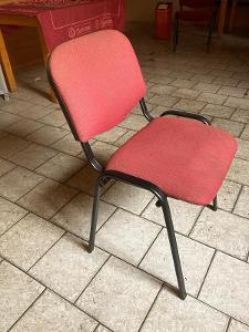 Židle čalouněná konferenční