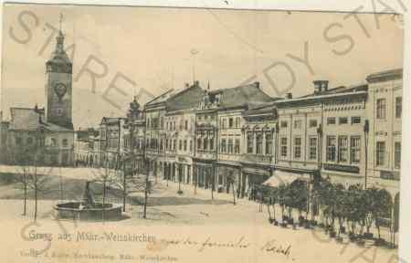 Hranice na Moravě - Gruss aus Mähr. Weisskirchen,