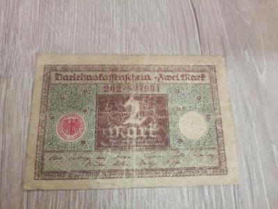 2 mark Německo 1920.