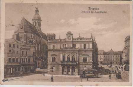 Opava (Troppau), divadlo, TRAMVAJ