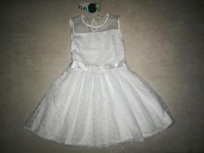 NOVÉ Krásné společenské / svatební šaty pro družičku vel 134