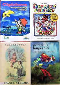 4 dětské knihy.