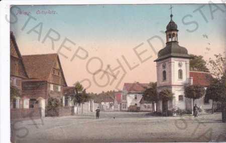 Polepy (Polepp), náměstí, barevná