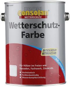 Ochranná barva na dřevo Consolan 2,5 L (44454322) I249