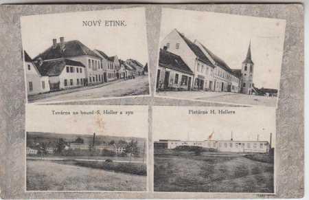 Nová Včelnice (Nový Etink) Jindřichův Hradec TOVÁR