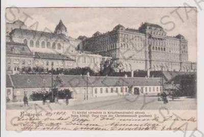 Maďarsko - Budapešť / Budapest - hrad, DA