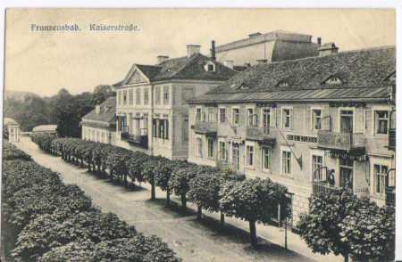 Františkovy Lázně (Franzensbad), Kaiserstrasse