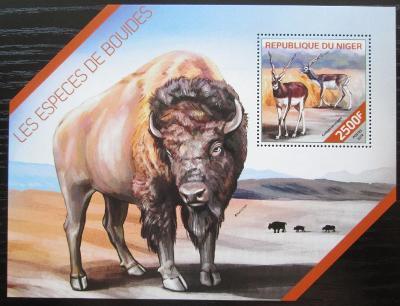 Niger 2014 Turovití Mi# Block 305 Kat 10€ 2513