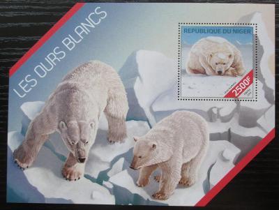 Niger 2014 Lední medvědi Mi# Block 309 Kat 10€ 2514
