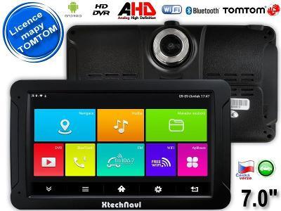 "GPS navigace-tablet-DVR kamera G7065ANT, 7.0"", Navigator TOMTOM"