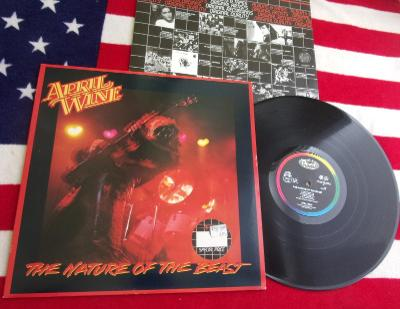 💥 LP: APRIL WINE - THE NATURE OF THE BEAST, jako nová MINT!, NL 1981