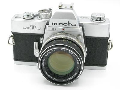 MINOLTA SRT 101, MC Rokkor PF 55mm/1,7