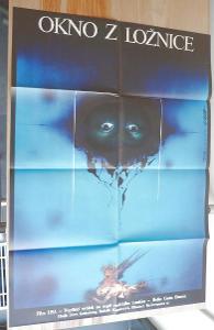 Okno z ložnice (filmový plakát, film USA 1987, režie Cu