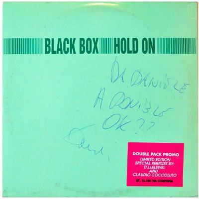 """Gramofonová deska BLACK BOX - Hold on (2x 12"""")"""