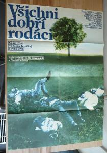Všichni dobří rodáci (filmový plakát, film ČSSR 1968