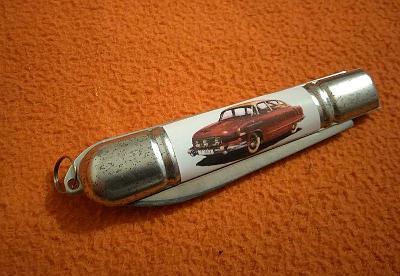 Sběratelský nožík TATRA 603 MOTOKOV kapesní zavírací reklamní nůž