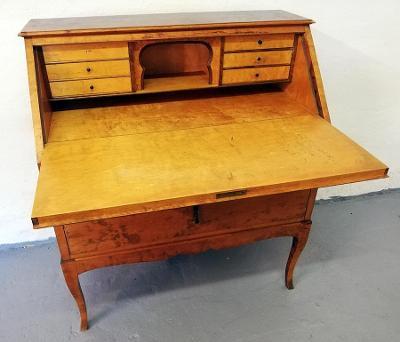 Starožitná psací komoda