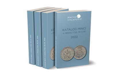 = Nový katalog mincí a medailí ČSR-ČR-SR 1918-2022 Macho & Chlapovič =